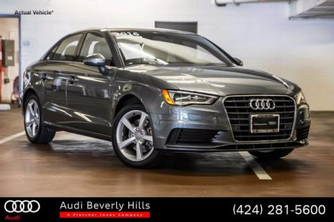 Certified Used Audi A3 4dr Sdn FWD 1.8T Premium