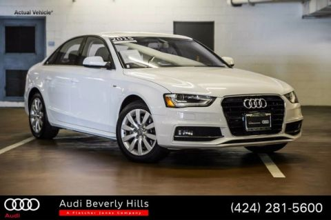 Certified Used Audi A4 4dr Sdn CVT FrontTrak 2.0T Premium