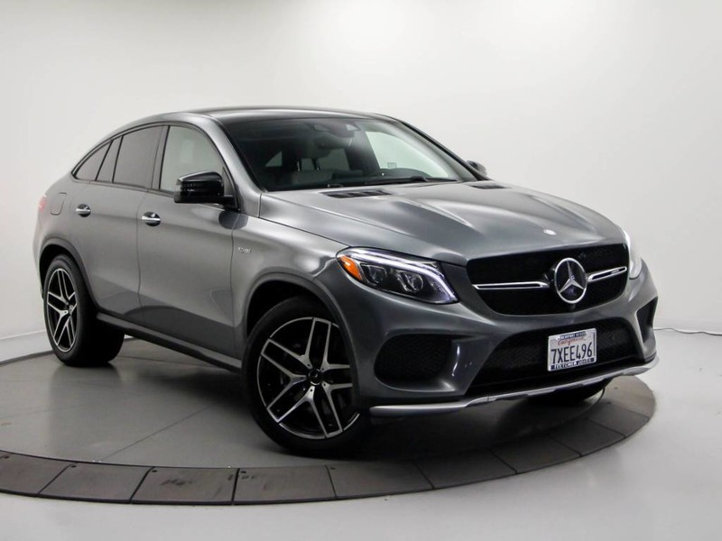 Certified Pre Owned 2017 Mercedes Benz Gle Amg Gle 43 Coupe In