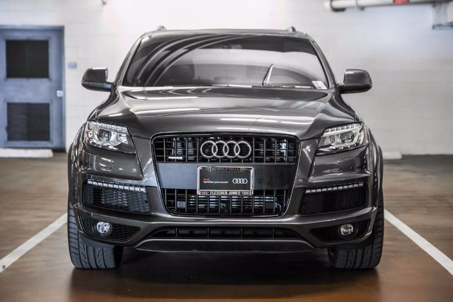 certified pre owned 2015 audi q7 quattro 4dr 3 0t s line prestige suv in u3718 fletcher jones. Black Bedroom Furniture Sets. Home Design Ideas