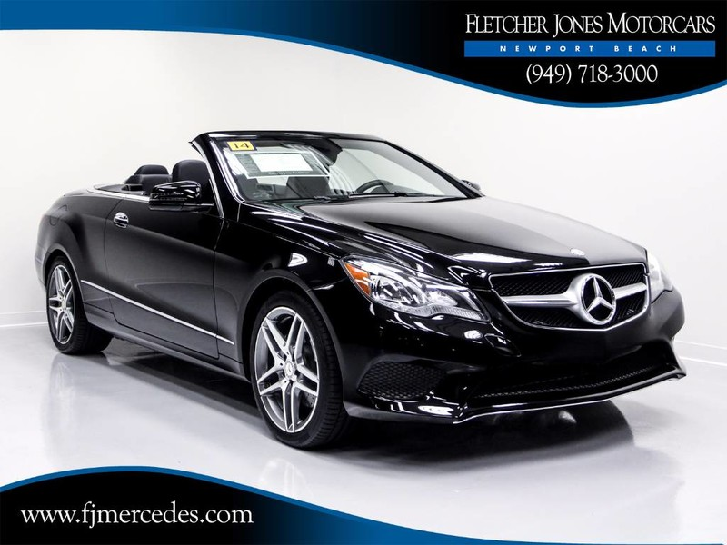 Pre Owned 2014 Mercedes Benz E Class E 350 Cabriolet In
