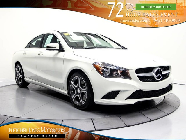 Certified Pre Owned 2014 Mercedes Benz Cla Cla 250 Coupe