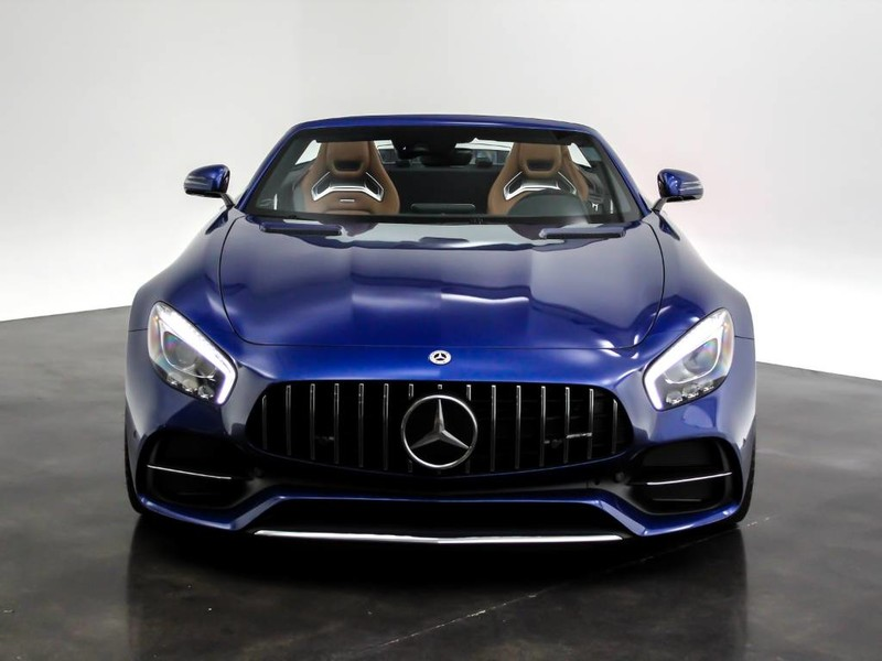 Pre-Owned 2018 Mercedes-Benz AMG® GT AMG® GT C Rear Wheel Drive ROADSTER