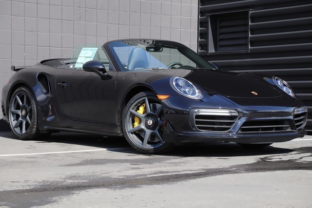 All Wheel Drive Convertible New 2019 Porsche 911 Turbo S Cabriolet