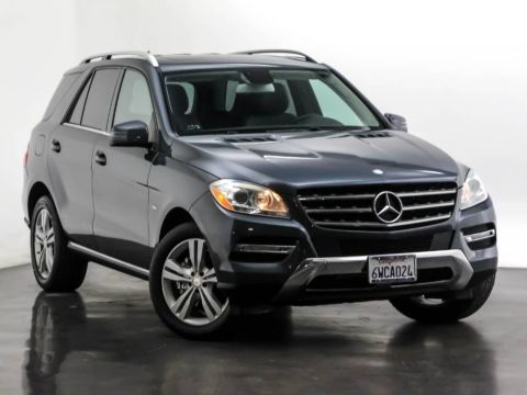 Pre-Owned 2012 Mercedes-Benz M-Class ML 350