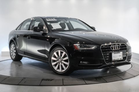 Certified Pre-Owned 2015 Audi A4 4dr Sdn CVT FrontTrak 2.0T Premium