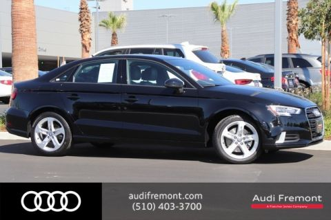 Certified Pre-Owned 2018 Audi A3 Sedan Premium