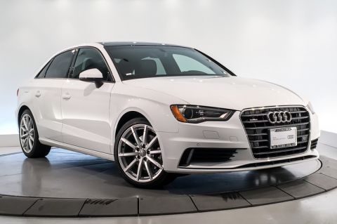 Certified Pre-Owned 2016 Audi A3 4dr Sdn quattro 2.0T Premium