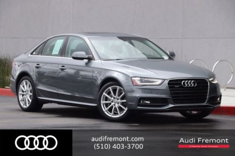 Certified Pre-Owned 2015 Audi A4 Premium