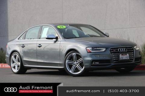 Pre-Owned 2013 Audi S4 Premium Plus