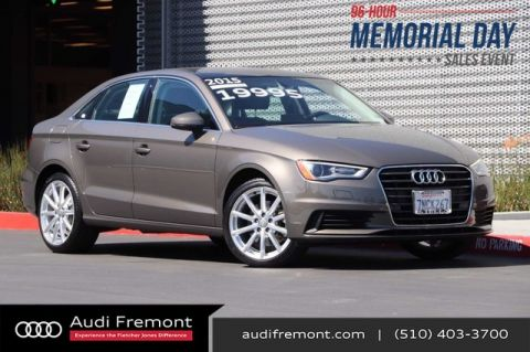 Certified Pre-Owned 2015 Audi A3 1.8T Premium Plus