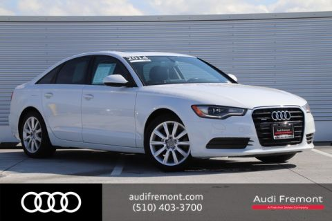 Certified Pre-Owned 2014 Audi A6 3.0L TDI Premium Plus