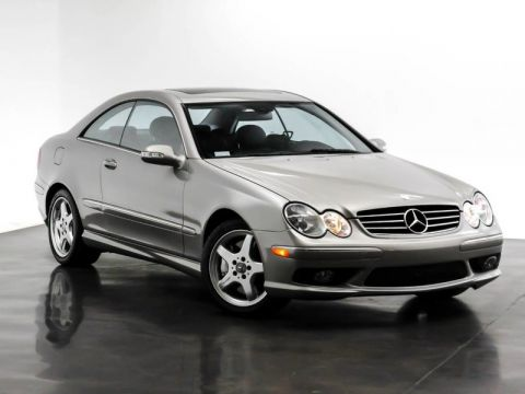 Pre-Owned 2004 Mercedes-Benz CLK 5.0L