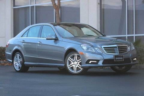Pre-Owned 2010 Mercedes-Benz E-Class 4dr Sdn E 550 Sport RWD