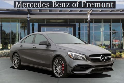 New 2018 Mercedes-Benz CLA AMG® CLA 45 4MATIC Coupe