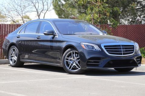 New 2019 Mercedes-Benz S-Class S 560 Sedan