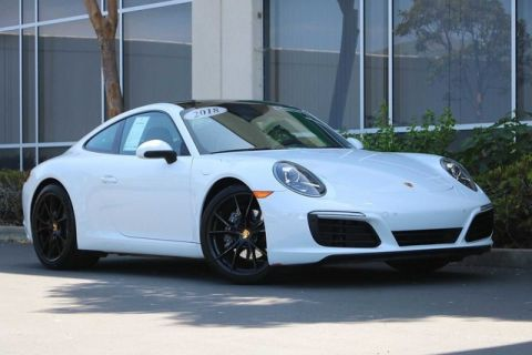 Certified Pre-Owned 2018 Porsche 911 Carrera Coupe