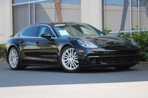 Certified Pre-Owned 2017 Porsche Panamera 4S AWD