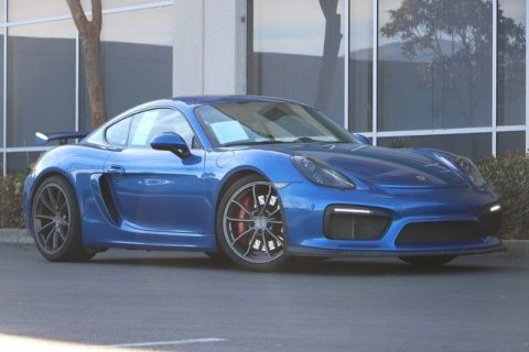 Pre-Owned 2016 Porsche Cayman GT4 with Sport Chrono, Navigation, Sport Seats, Clean Rev Report