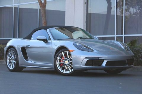 Certified Pre-Owned 2017 Porsche 718 Boxster S Roadster
